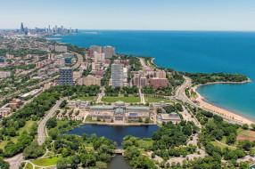 chicago, города, Чикаго , сша, простор