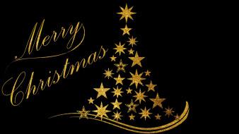 праздничные, векторная графика , новый год, фон, звезды, снежинки, елка