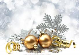 серпантин, снежинка, шар, игрушка