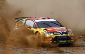 citroen, ралли, спорт, гоночные автомобили, гонки, грязь