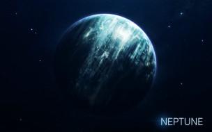 Solar System, by Vadim Sadovski, Vadim Sadovski, System, Солнечная Система, Berries, Neptune, Система, Planet, Art, Space, Космос, Нептун, Арт, Stars