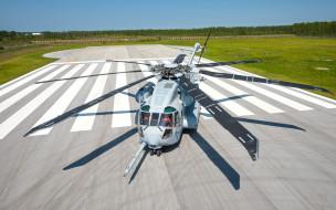 военные вертолеты, аэропорт, грузовой вертолет, корпус морской пехоты сша, тяжелый, большой