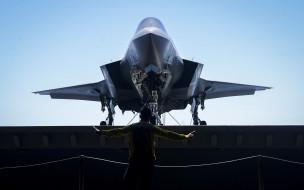 lockheed martin f-35 lightning ii, авиация, боевые самолёты, боевой, самолет, истребитель, авианосец, армия, сша, нато, вмс