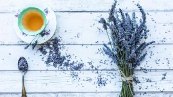 лаванда, чай