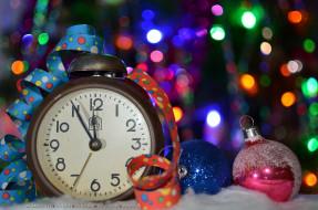 календари, праздники,  салюты, шар, будильник, игрушка, серпантин