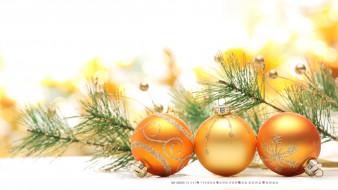 календари, праздники,  салюты, игрушка, ветка, шар