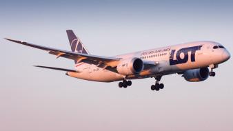 boeing 787-8, авиация, пассажирские самолёты, авиалайнер
