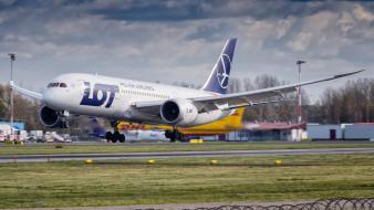boeing 787-85d, авиация, пассажирские самолёты, авиалайнер