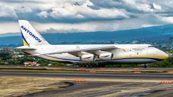 an-124, авиация, грузовые самолёты, авиалайнер