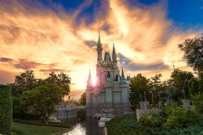 magic kingdom, города, диснейленд, простор