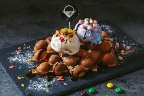 еда, мороженое,  десерты, снедь
