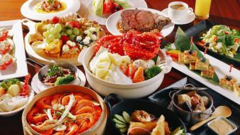 еда, рыбные блюда,  с морепродуктами, снедь