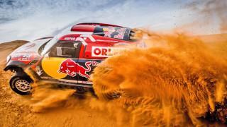 ралли дакар, гонка, песок, автомобиль