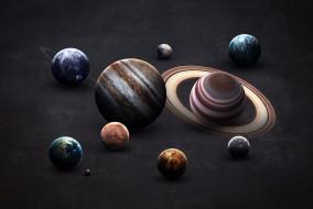Jupiter, Uranus, Mercury, Venus, Neptune, Mars, Система, Уран, Earth, Saturn, Planets, Венера, Меркурий, Нептун, Юпитер