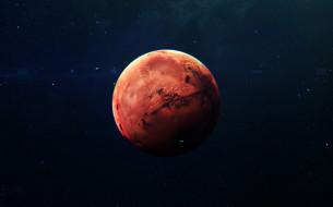 Mars, звезды, галактики, планета, вселенная