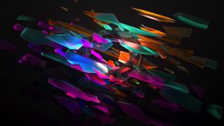 3д графика, абстракция , abstract, узор, фон, цвет