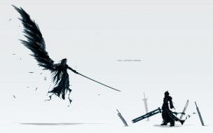 аниме, final fantasy, последняя, фантазия