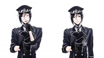 аниме, kuroshitsuji, себастьян