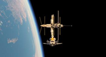 космос, космические корабли,  космические станции, вселенная, полет, космический, корабль, галактики