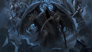 bard songs, ангел смерти, Leo Hao, коса