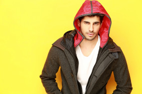 Sidhart Malhotra, куртка, актер, капюшон