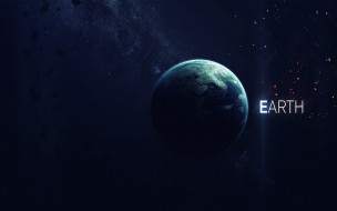 Земля, звезды, галактики, вселенная, планета