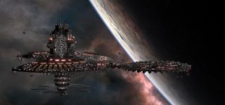 космический корабль, полет, вселенная, галактики