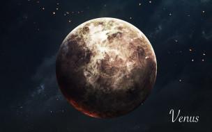 звезды, Венера, галактики, вселенная, планета