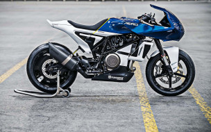 синий, eicma 2018, мотоцикл, husqvarna