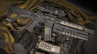 винтовка, weapon, custom, м16, ar-15