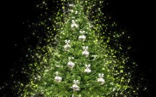елка, украшения, новый год