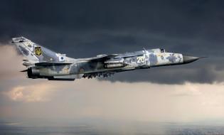 самолет, полет, Су-24