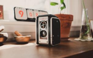 kodak, фотокамера, ретро, алюминиевый сплав, пленка