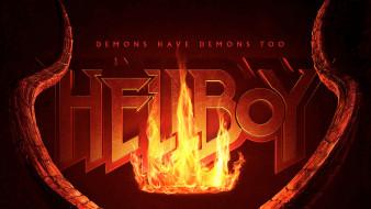 кино фильмы, hellboy , 2019, hellboy