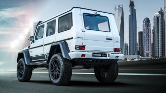 дубай, 2019, mercedes-benz, brabus 700, final edition, вид сзади, тюнинг