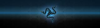 Razer, фон, логотип