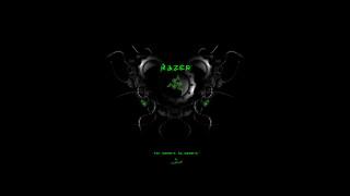 фон, логотип, Razer