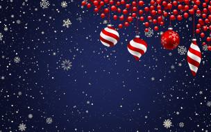 Новый год, Праздник, Christmas, Фон, Снежинки, Рождество