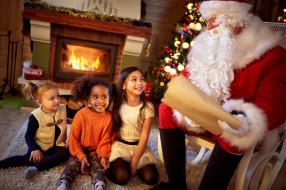 Санта Клаус, дети, Дед Мороз