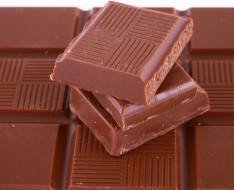 шоколад, куски, плитка