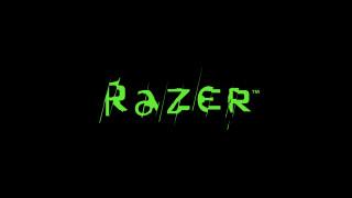 логотип, Razer, фон