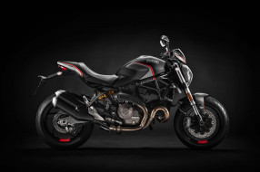 дукати, 2019, мотоцикл, stealth, monster 821, ducati