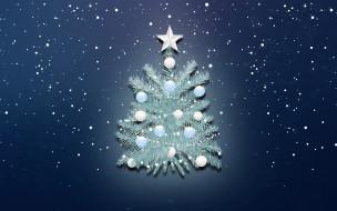 Новый год, Праздник, Фон, Снежинки, Рождество, Снег