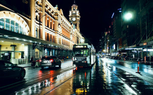вечер, улица
