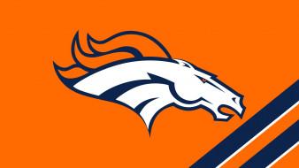Denver, Broncos, фон, логотип