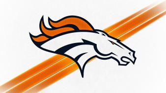 логотип, фон, Broncos, Denver