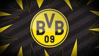Borussia, Dortmund, фон, логотип