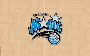фон, логотип, Orlando Magic