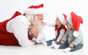 Санта Клаус, Дед Мороз, дети