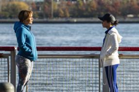 ограда, река, разговор